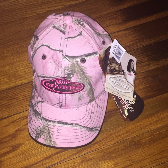 Realtree Accessories - Pink Camo Hat